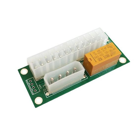 Add 2 Psu Conectar 2 Fuente Power Molex Add2psu