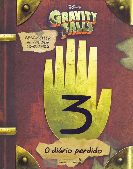 Livro O Diário Perdido De Gravity Falls - Novo Em Português