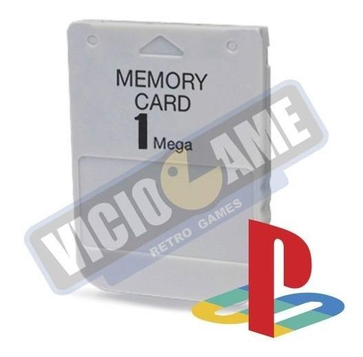 Memory Card Para Playstation 1 E Psone