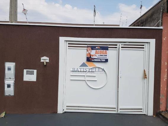 Casa Para Alugar, 65 M² Por R$ 1.100/mês - Parque Residencial Aeroporto - Limeira/sp - Ca0963