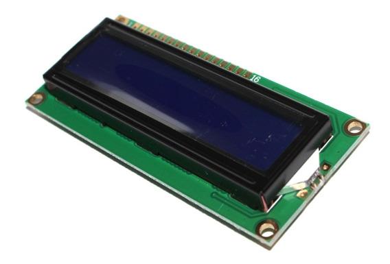 Display Tela Lcd 16x02 16x2 1602 Fundo Azul Para Arduino Pic