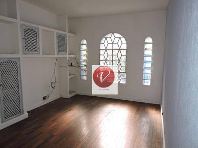 Casa Comercial Para Locação, Bairro Jardim, Santo André - Ca2843. - Ca2843