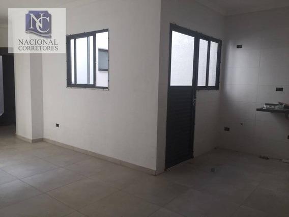 Cobertura Com 2 Dormitórios À Venda, 43 M² Por R$ 358.000 - Jardim Utinga - Santo André/sp - Co4176