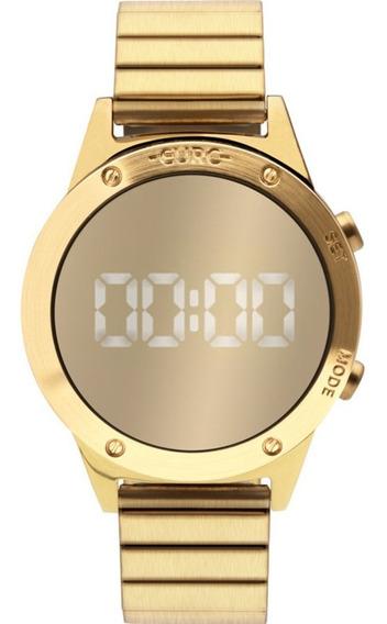 Relógio Euro Feminino Espelhado Dourado Mod Eujhs31bab/4d