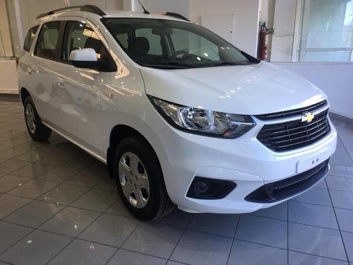 Nueva Chevrolet Spin Lt 1.8 Nafta Manual 5 Plazas 2021 Ep