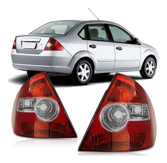 Par Lanterna Traseira Fiesta Sedan 2005 2007 2008 2009 2010