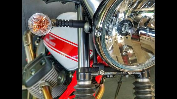 Moto Guzzi V7 Stornello Okm Abs Saldo 12 Meses Sin Interes