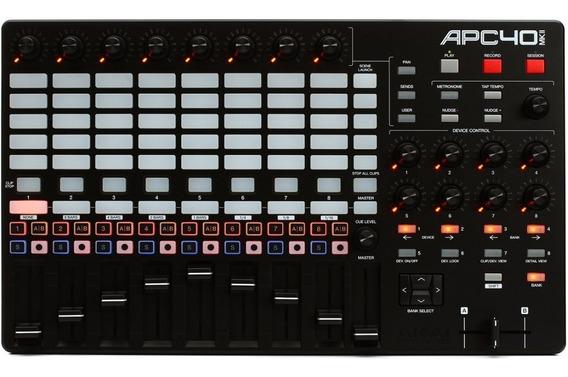 Akai Apc 40 Mkii Controlador Dj 9 Faders Ableton Live