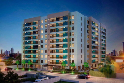 Lançamento!-apartamento Com 3 Dormitórios À Venda, 128 M² Por R$ 606.209 - Jardim Oceania - João Pessoa/pb - Codap0811 - Ap0811