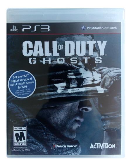 Call Of Duty Ghosts Ps3 Mídia Física Lacrado