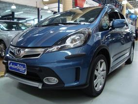 Honda Fit Twist 1.5 Flex 2014 Azul (completo)