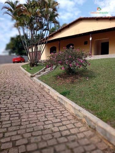 Chácara Com 3 Dormitórios À Venda, 1300 M² Por R$ 480.000,00 - Monte Bianco - Araçoiaba Da Serra/sp - Ch0219