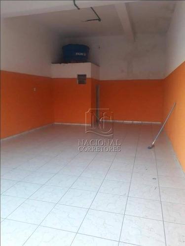 Salão Para Alugar, 180 M² Por R$ 1.600,00/mês - Jardim Elba - São Paulo/sp - Sl0881