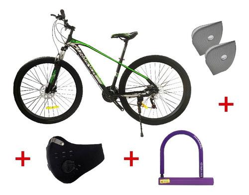 Bicicleta Todoterreno Mtb Aluminio  Hombre - Mujer Rin 29