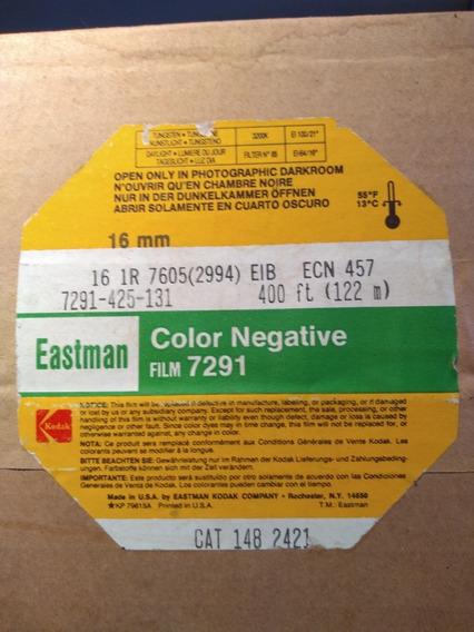 Filme 16mm Kodak Eastman 7291 400 Pés/122m