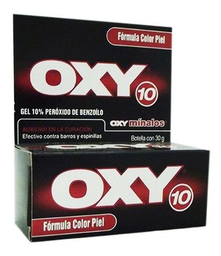 Contra Acné Oxy Color Piel X 30 G Peróxido De Benzoilo