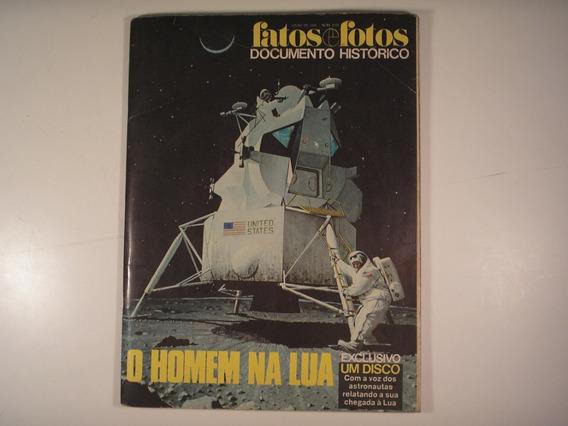 Revista Fatos E Fotos : Homen Na Lua / 1969 C/disco / C57