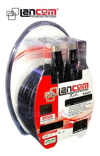 Cable Hdmi 2.0 De 8 Metros Lancom P/ Tv Hd Blue Ray Led