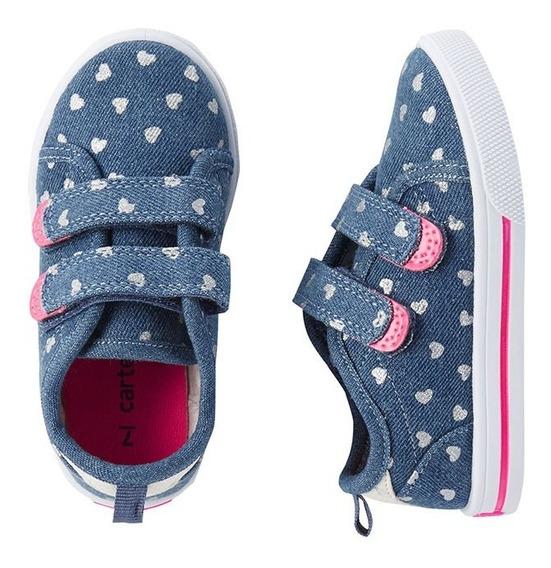Zapatos Tenis Carter`s Importados Nuevos Para Niñas Talla 26