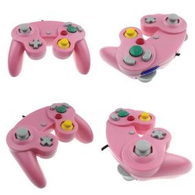 Controle Joystick Nintendo Gamecube Rosa