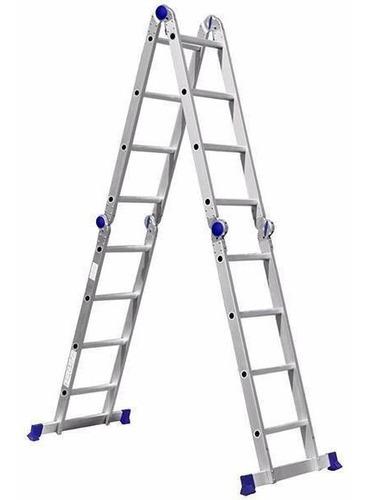 Escada Articulada 4x4 Em Aluminio