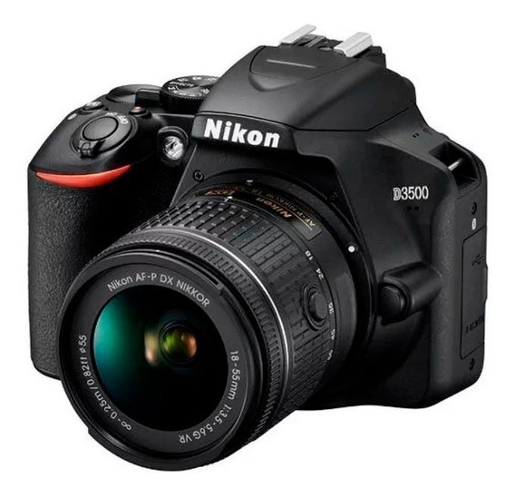 Camara Nikon D3500 Kit 18-55mm Reflex Garantia Original