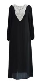 Abaya Islmica Robe Casual Kaftan Vestido Largo Turc