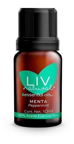 Aceite Esencial De Menta Puro Liv Natural®