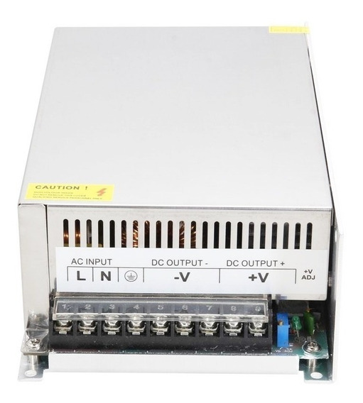 Kit 2 Fonte Chaveada Estabilizada 12v 80a 960w 110v-220v