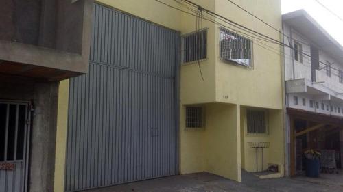 Imagem 1 de 11 de Galpão Para Alugar, 203 M² - Vila Carlina - Mauá/sp - Ga1375