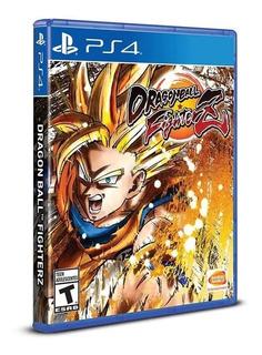 Dragon Ball Fighterz Ps4 ( Sellado ) Envíos Grátis Y Rápido