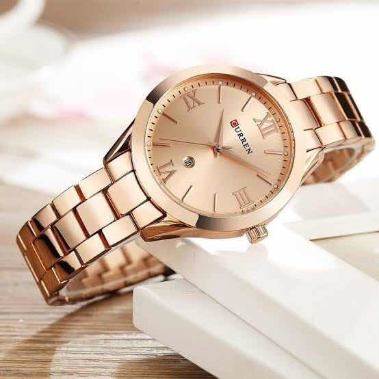 Relógio Feminino Curren Rosé A Prova D