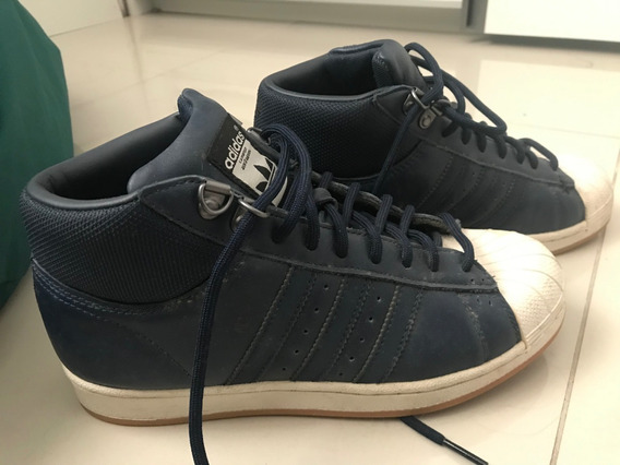 adidas Superstar Cano Alto Couro