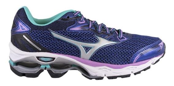 Tênis Mizuno Wave Guardian S Running Azul 4139255-2814