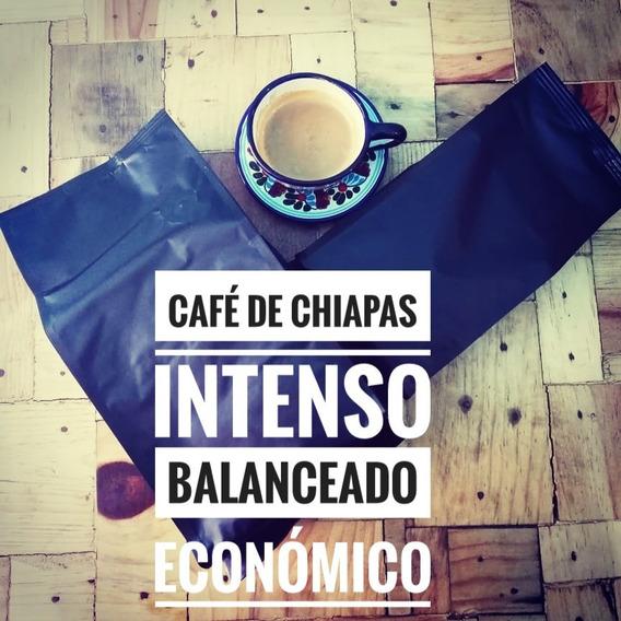 Café Chiapas Molido Sabor Intenso Ecológico Económico 500g