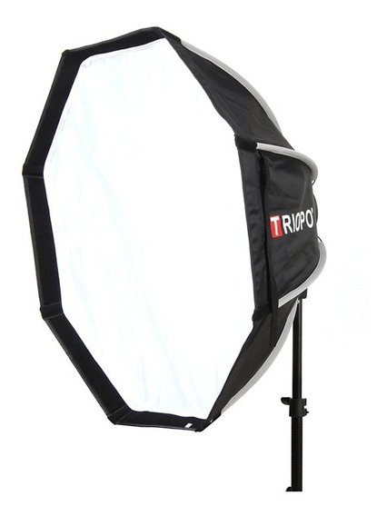 Softbox Octagonal Triopo Kx65cm Suporte Flash
