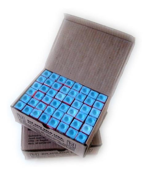 Para Bilhar/ Sinuca/ Snooker Giz Azul Caixa Com 144 Unidades