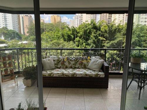 Imagem 1 de 20 de Apartamento À Venda, 173 M² Por R$ 2.150.000,00 - Brooklin Novo - São Paulo/sp - Ap16025