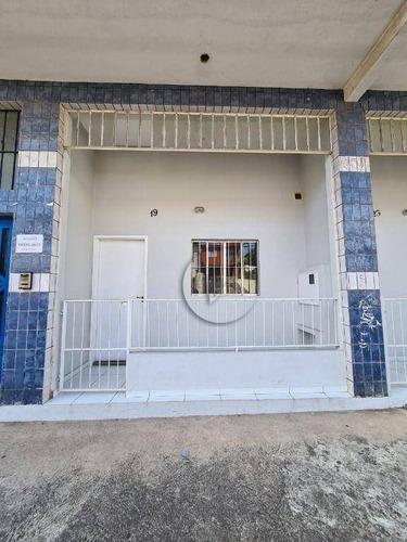 Imagem 1 de 5 de Apartamento Com 1 Dormitório Para Alugar, 30 M² Por R$ 1.100,00/mês - Parque Das Nações - Santo André/sp - Ap10450