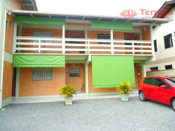 Kitnet Com 1 Dormitório Para Alugar, 50 M² Por R$ 550,00/mês - Água Verde - Blumenau/sc - Kn0002