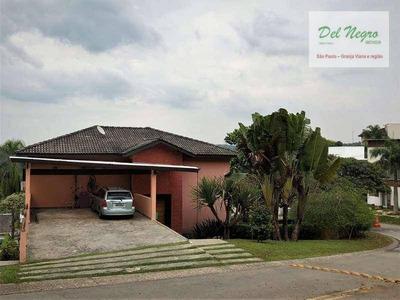 Casa Residencial À Venda, Golf Village, Granja Viana. - Ca1563