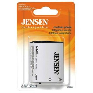 Jensen Jtb511 Teléfono Inalámbrico De Batería Para Uniden Bt