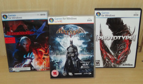 Devil May Cry 4 + Batman - Arkham Asylum + Prototype