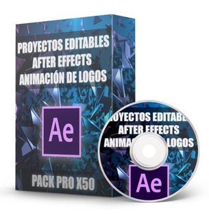 Proyectos After Effects Logos Editables Pack X50 Full Hd 4k