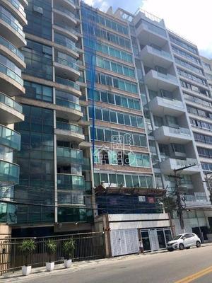 Maravilhoso Apartamento Frente Para A Praia De Icaraí - Ap1341