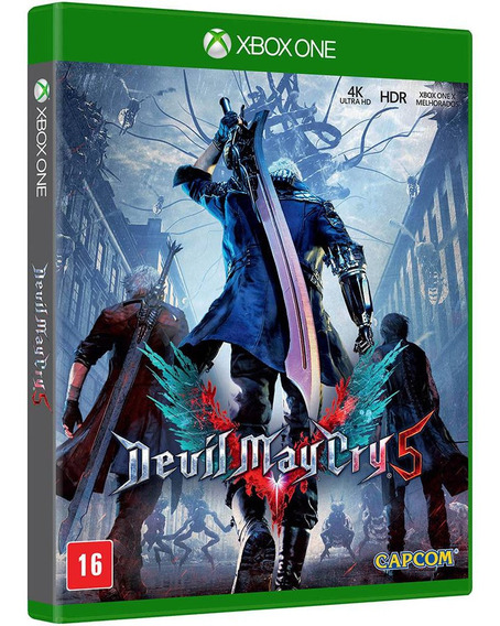 Jogo Devil May Cry V Dmc 5 Xbox One Midia Fisica Português