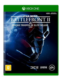 Star Wars Battlefront 2 Trooper Elite Xbox One Mídia Física