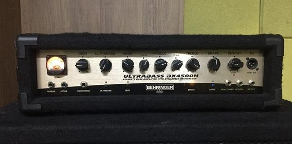 Cabeçote Para Baixo Behringer Bx4500h Ultrabass