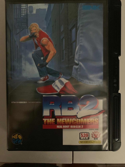 Real Boult 2 Neo Geo Aes