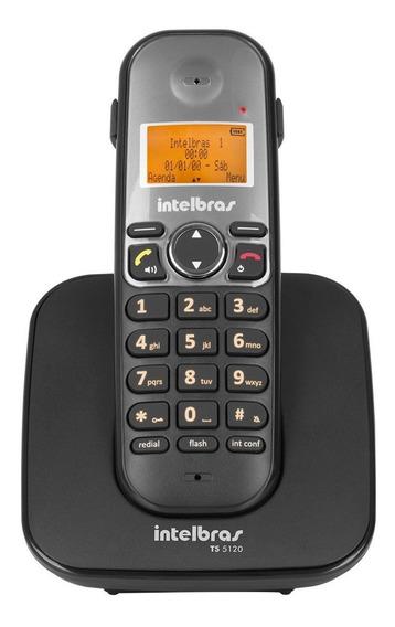 Ramal Sem Fio Digital Intelbras Ts 5121 Para Base Ts 5120 Ou Ts 5150 - Ts5121 Preto